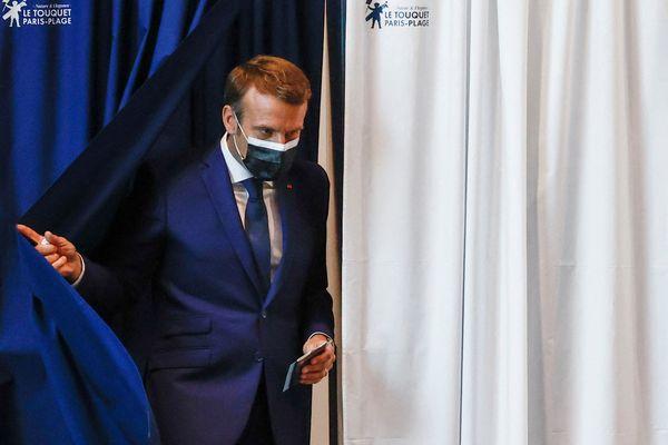 Emmanuel Macron, le 20 juin.