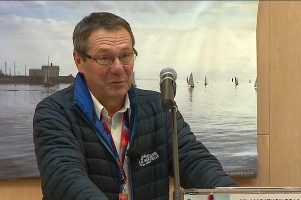 Dominique Rougé, nouveau président du Marathon de La Rochelle