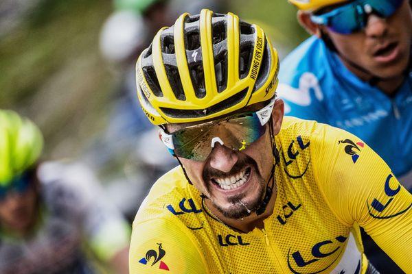 Samedi 28 décembre, le journal L'Equipe a désigné Julian Alaphilippe, le coureur originaire de Montluçon, Champion des champions.