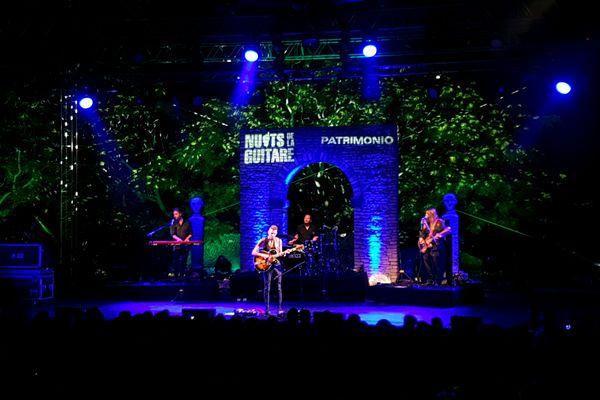 L'artiste Asaf Avidan a inauguré la 28e édition des Nuits de la guitare à Patrimonio