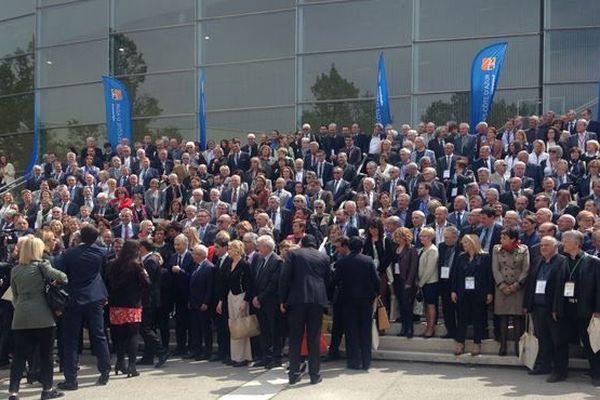 Les maires de Paca lors de la 1ère convention annuelle