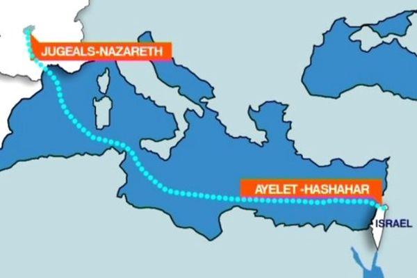 De Jugeals-Nazareth en Corrèze à Ayelet Hashahar dans le Golan.