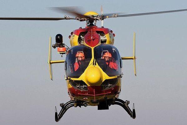 ILLUSTRATION - Hélicoptère de la Sécurité Civile