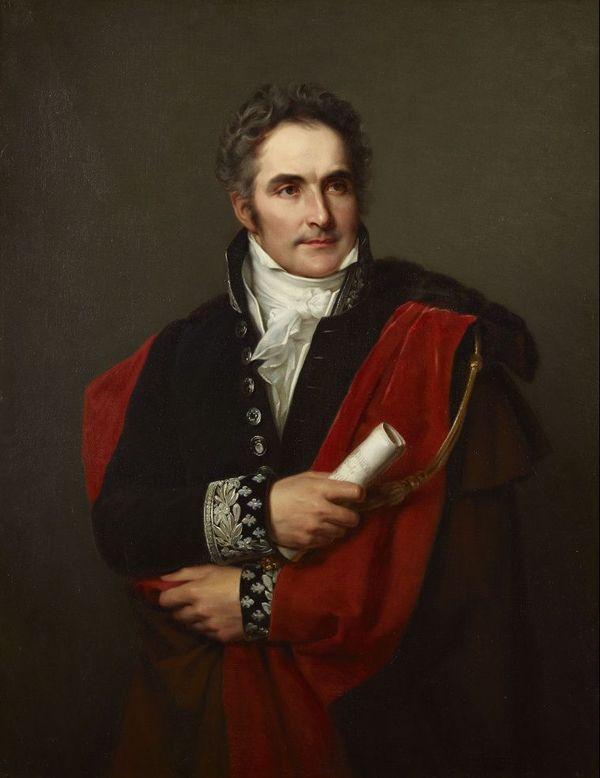 Casimir Périer par Louis Hersent, Château de Versailles, 1827.
