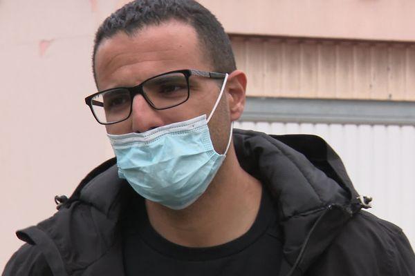 """Kamel Agag-Boudjahlat, candidat et tête de liste RN aux départementales dans le Territoire de Belfort a fini par se retirer. Il dit avoir """"infiltré"""" volontairement le parti de Marine Le Pen."""