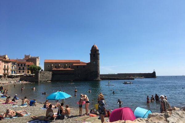 le port du masque en extérieur est de nouveau obligatoire à Collioure