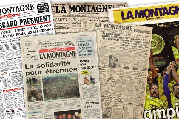 Le journal La Montagne, dont le siège est à Clermont-Ferrand, fête ses 100 ans, le 4 octobre 2019