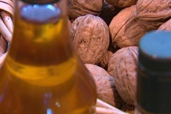 La noix de Grenoble, réputée pour son goût savoureux.