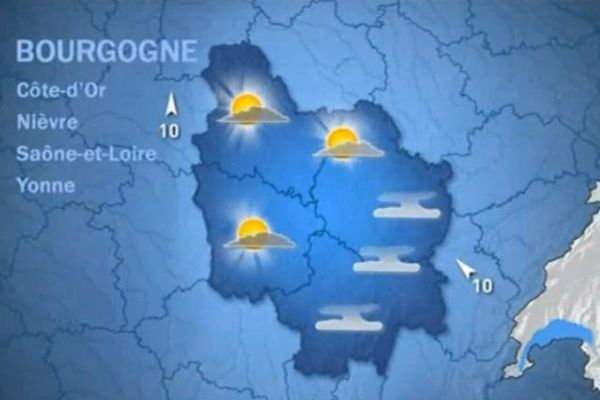 Les prévisions de Météo France jeudi 5 novembre 2015 matin