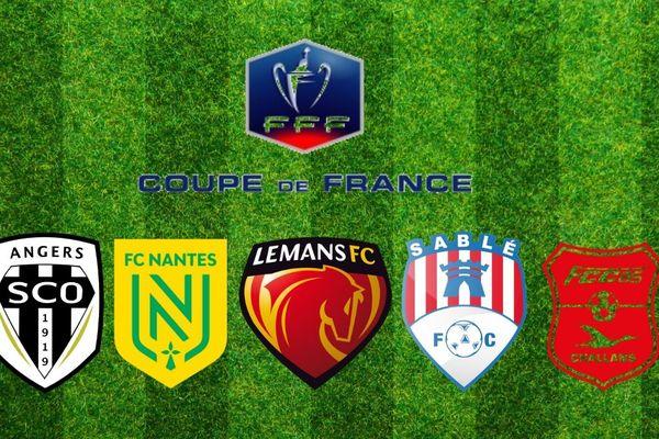 En Pays de la Loire, cinq clubs joueront les 32e de Coupe de France