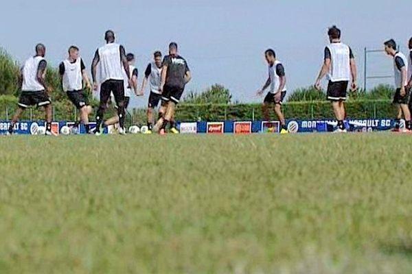 Montpellier - le premier entraînement de l'ère Fernandez du MHSC - 27 juin 2013.