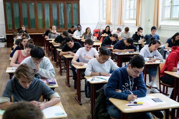 Début des épreuves du baccalauréat en 2018