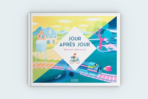 """""""Jour après Jour"""", sorti en 2019 aux éditions de la Martinière jeunesse, est le deuxième livre de Romain Bernard."""