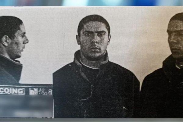 Un portrait de Mehdi Nemmouche, l'homme suspecté d'être l'auteur de la tuerie du Musée juif de Bruxelles.
