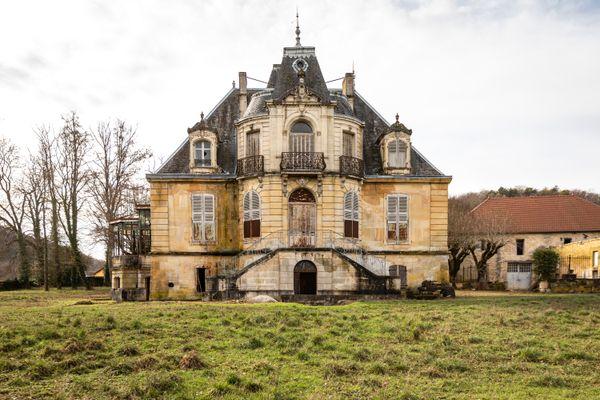 La maison de maître de forges à Rupt en Haute-Marne, près de Joinville, va être restaurée grâce à la mission Stéphane Bern 2021.