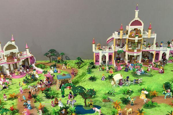 Un château pour y mettre les princesses