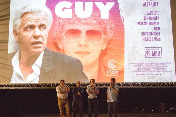 Présentation de Guy, l'an dernier, à la Piscine, en présence d'Alex Lutz, réalisateur et acteur principal du film