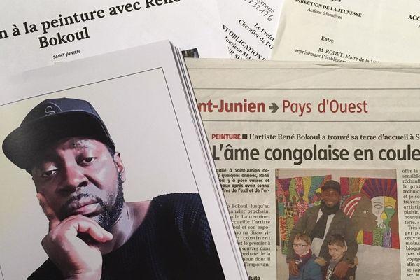 L'artiste René Bokoul est aujourd'hui menacé d'expulsion