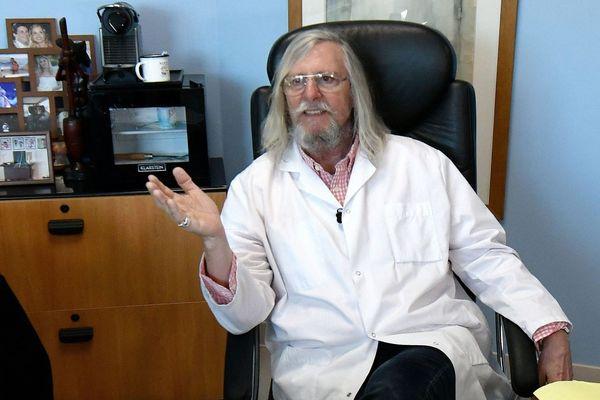 Le professeur Didier Raoult, directeur de l'IHU Méditerranée Infection et défenseur de la chloroquine pour traiter le coronavirus