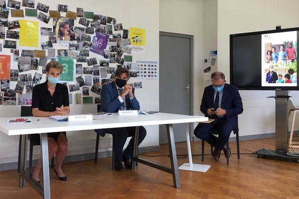 """Présentation de l'année scolaire 2020/2021 dans l'académie de Limoges par la rectrice Anne Laude : """"Tous nos élèves rentrent en présentiel à partir du 1er septembre"""""""
