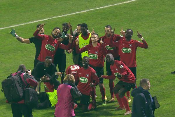 Gonfreville s'est battu jusqu'au bout pour arracher sa qualification en 16e de finale de Coupe de France contre le Stade briochin.