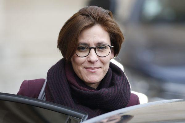 Christelle Dubos, la Girondine, secrétaire d'Etat au coeur de la crise sanitaire du coronavirus - A Paris, sortie conseil des ministres le 3 mars 2020.