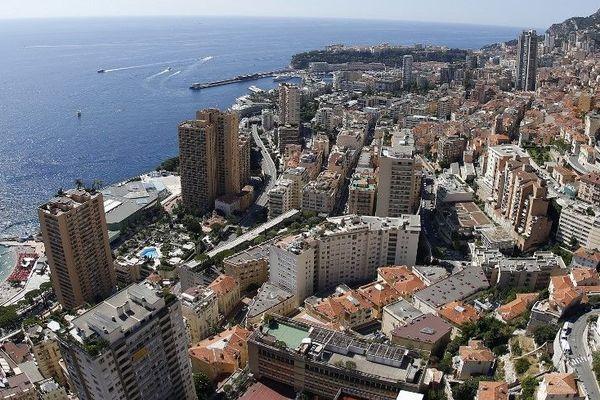 Vue générale de Monaco (Archives)