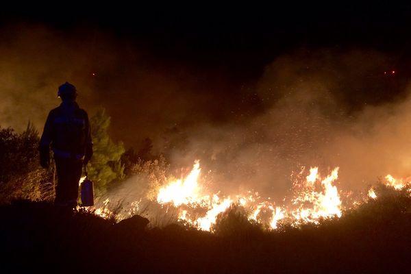 Un important incendie a ravagé plus de 760 hectares dans l'Aude - 7 septembre 2017