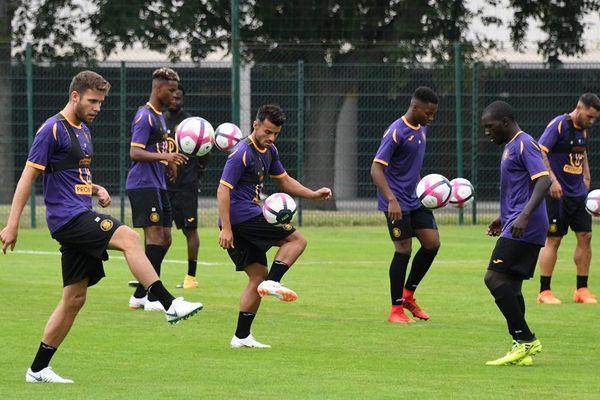 La reprise de l'entraînement du Toulouse Football Club
