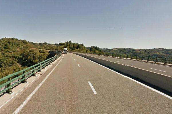 Le viaduc du Pays de Tulle est haut de 150 mètres.