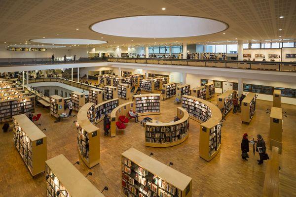 La bibliothèque francophone multimédias de Limoges