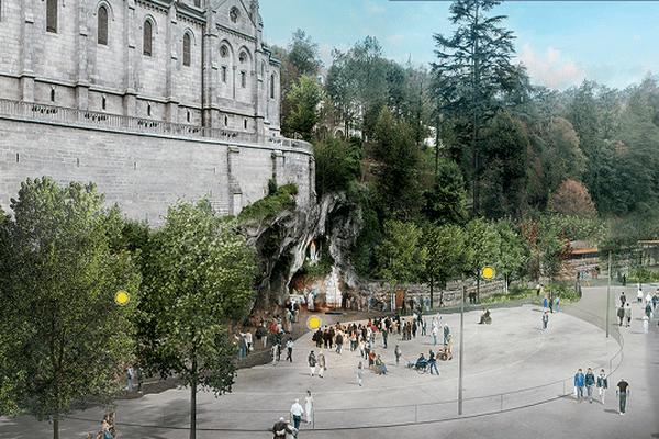 Image virtuelle des futurs aménagements