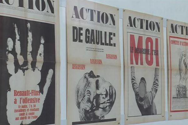Le journal Action a été créé au soir même de l'évacuation de la Sorbonne, le 3 mai 68.