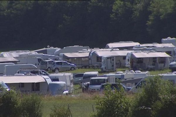 Thise : campement illégal de près de 200 caravanes