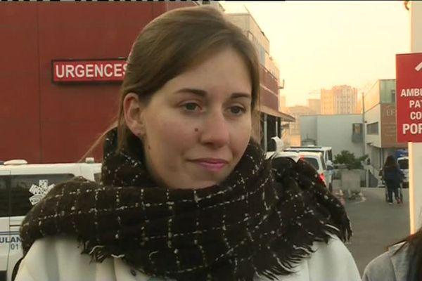 Julia Simmoneaud travaille depuis 10 ans à l'hôpital Henri-Mondor.