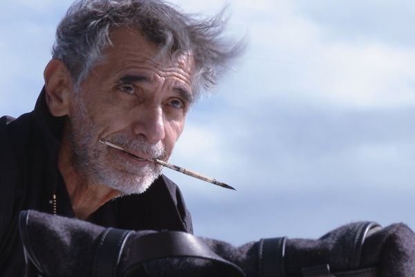 Un chemin avec Edmond Baudoin, documentaire réalisé par Jacques Samson et Christophe Camolrano