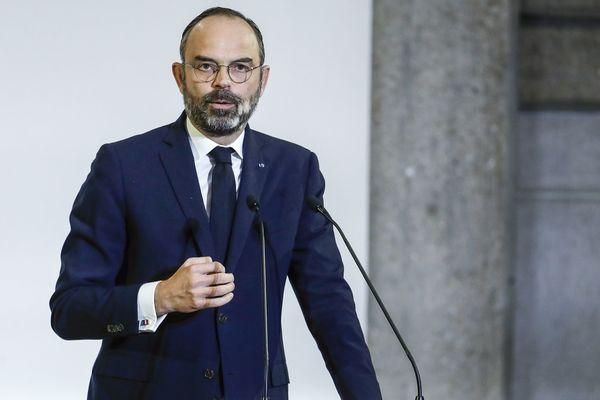 Le Premier ministre, Edouard Philippe, révèle les détails de sa réforme des retraites devant le Conseil économique et social, le 11 décembre 2019 à Paris.