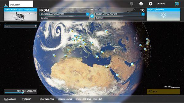 Chaque mètre cube de l'atmosphère terrestre est accessible