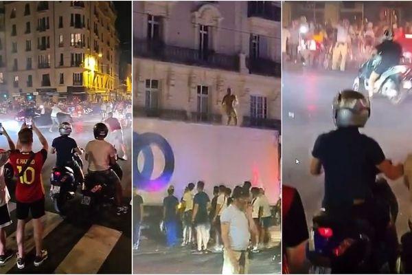 La victoire de la France a donné lieu à des scènes de rodéo en centre-ville