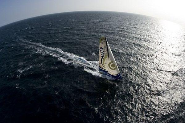 Le bateau de François Gabart pour la Route du Rhum 2014