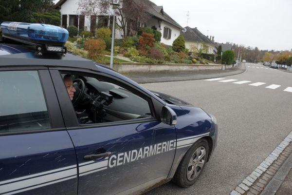 Une brigade de gendarmerie à Bischwiller (Haut-Rhin).