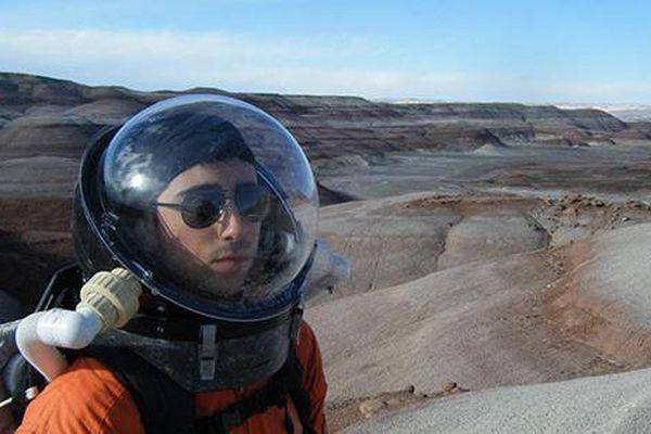 L'étudiant parisien va vivre dans une bulle de 11 mètres de diamètre durant plusieurs mois.