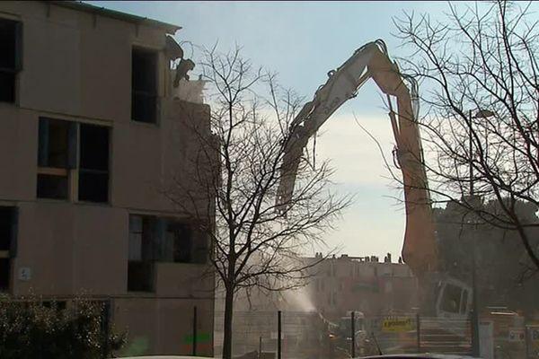 560 logements vont être détruits à la Devèze à Béziers dans le cadre d'un vaste programme de rénovation urbaine.