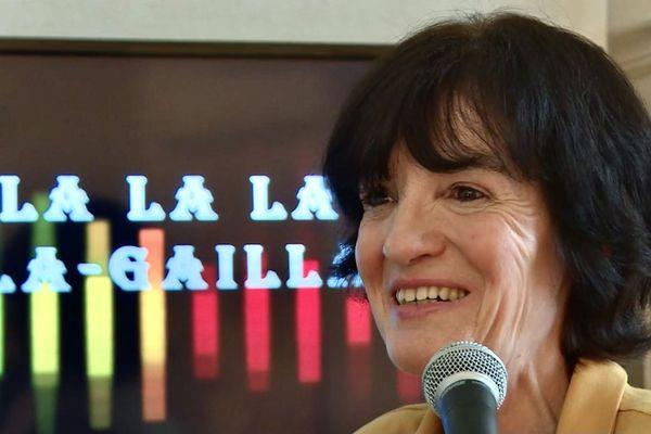 """56 000 vues sur YouTube pour la chanson """"Oh la la la Brive-la-Gaillarde"""" de la Corrézienne Jocelyne Lafaille"""