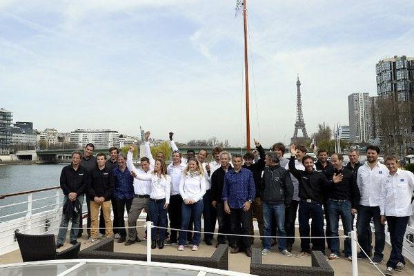 Les 15 duos au départ de la Transat AG2R 2014
