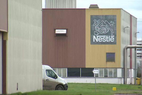 A Itancourt dans l'Aisne, le gourpe Nestlé emplotait 158 personnes dans l'usine Maggi.