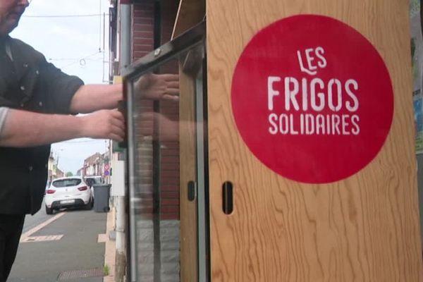 Un frigo solidaire à Wattrelos
