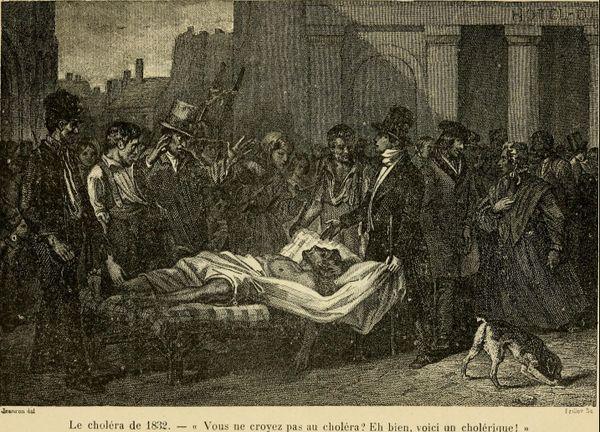 Les médecins avaient pour remèdes bains, sangsues, saignées, camphre et punch épicés.