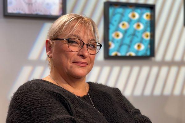 Roselyne Chassaing, présidente de la protection civile de la Loire