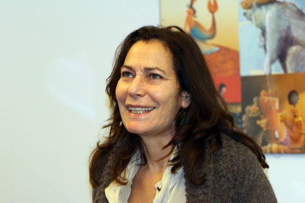 Memona Hintermann écrivain, journaliste francaise, grand reporter à France 3 , est l'invitée de Lire à Limoges 2013